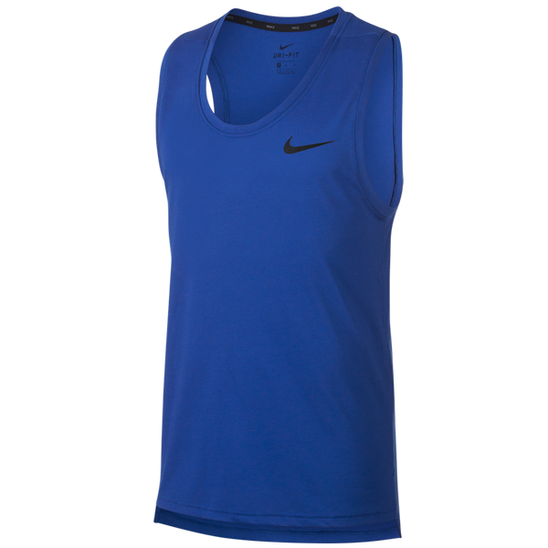 Nike Men's Dri-FIT Breathe Training Tank Game Royal