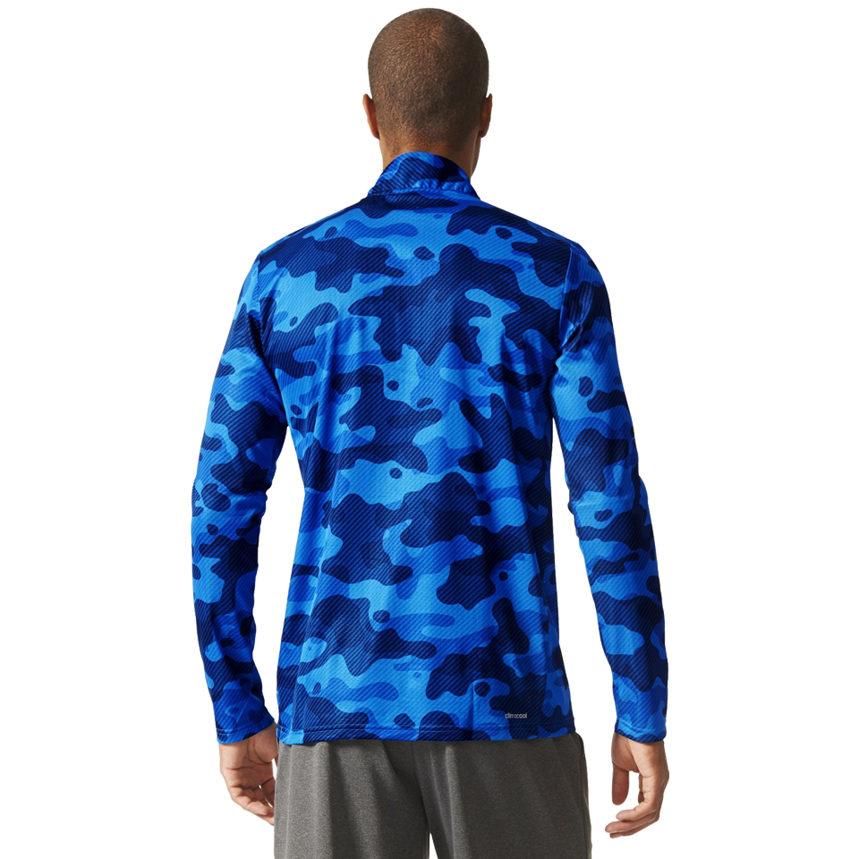 Adidas Men's Cool 365 Tee Equip Blue Camo