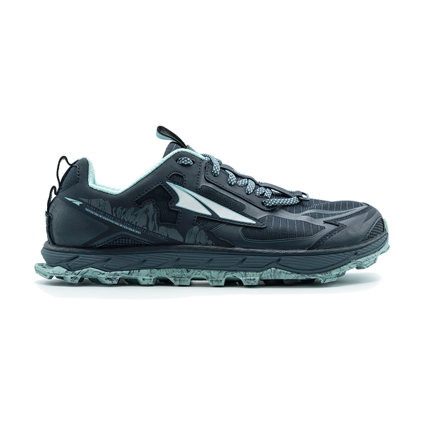 Altra Women's Lone Peak 4.5 Low Navy/Light Blue