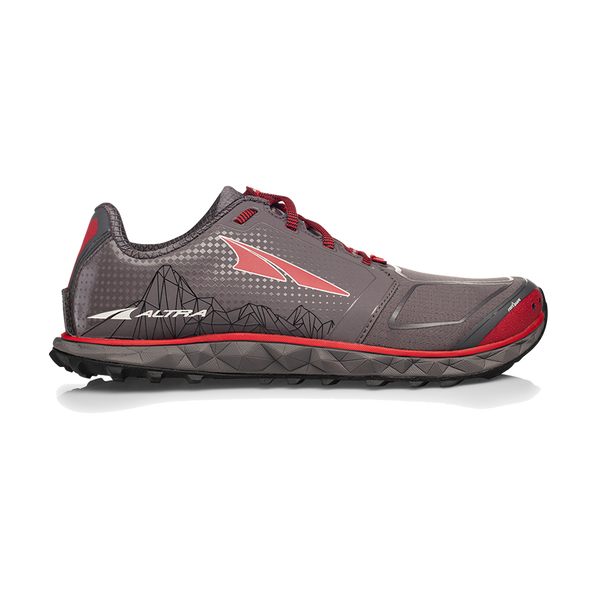 Altra Men's Superior 4 Gray/Red