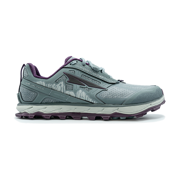 Altra Women's Lone Peak 4 Low RSM Light Gray