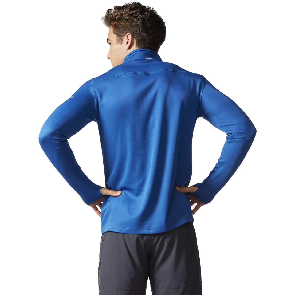 Adidas Men's Sequentials Half Zip Equip Blue