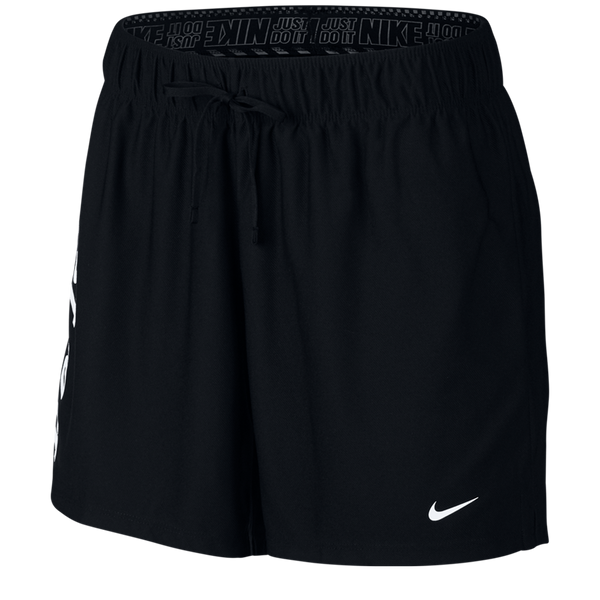 Nike Women's Dri-FIT Graphic Training Shorts Black
