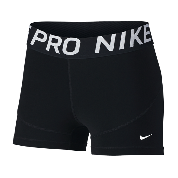 "Nike Women's Pro 3"" Shorts Black"