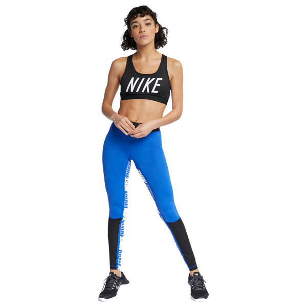 Nike Women's Pro Graphic Tights Game Royal