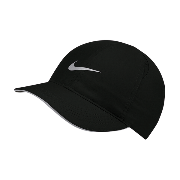 Nike Women's Dri-FIT Aerobill Featherlight Running Cap Black