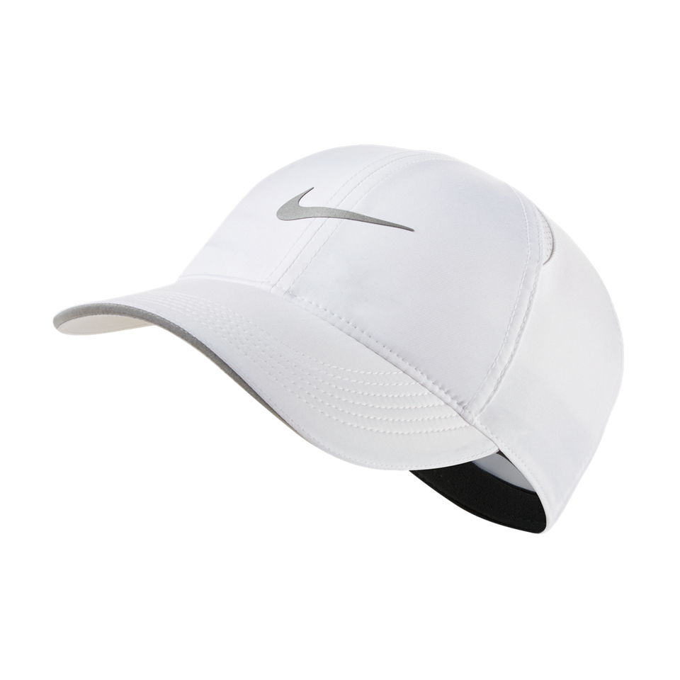 Nike Women's Dri-FIT Aerobill Featherlight Running Cap White