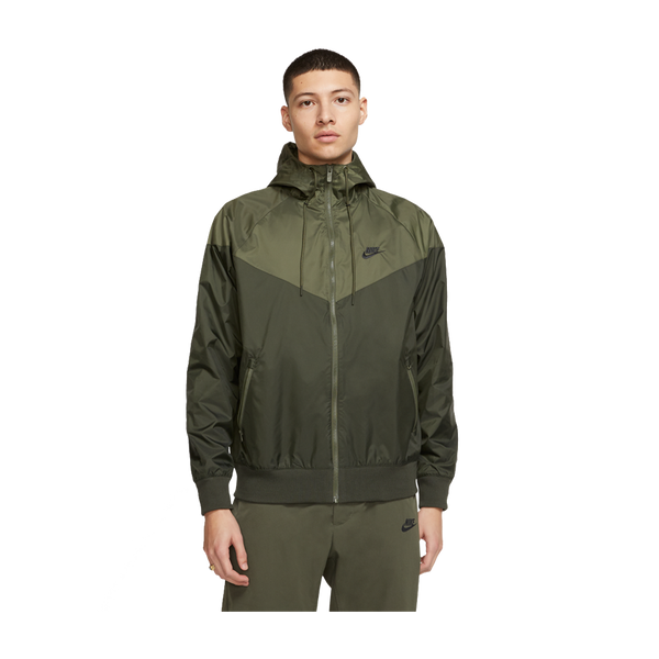 Nike Men's Nike Sportswear Windrunner Hooded Windbreaker Sequoia