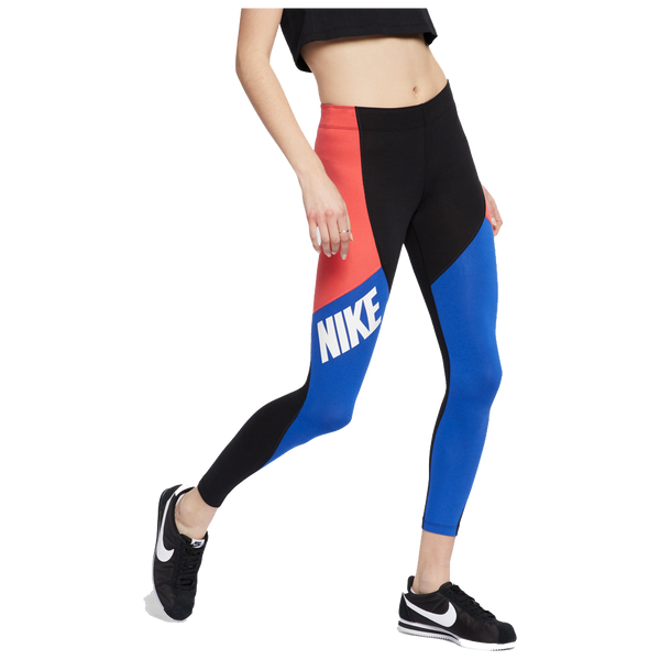 Nike Women's Sportswear Leg-A-See Leggings Black