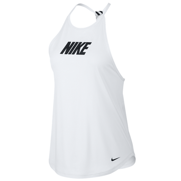 Nike Women's Graphic Training Tank White