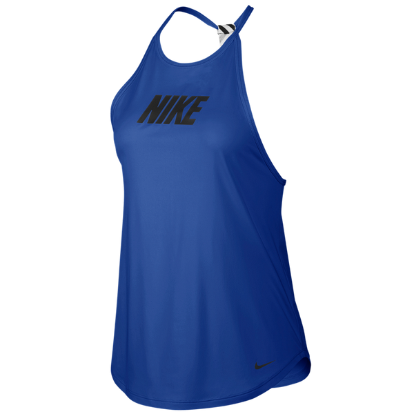 Nike Women's Graphic Training Tank Game Royal