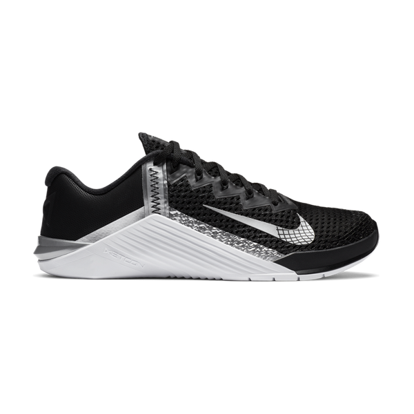 Nike Women's Metcon 6 Black/Metallic Silver