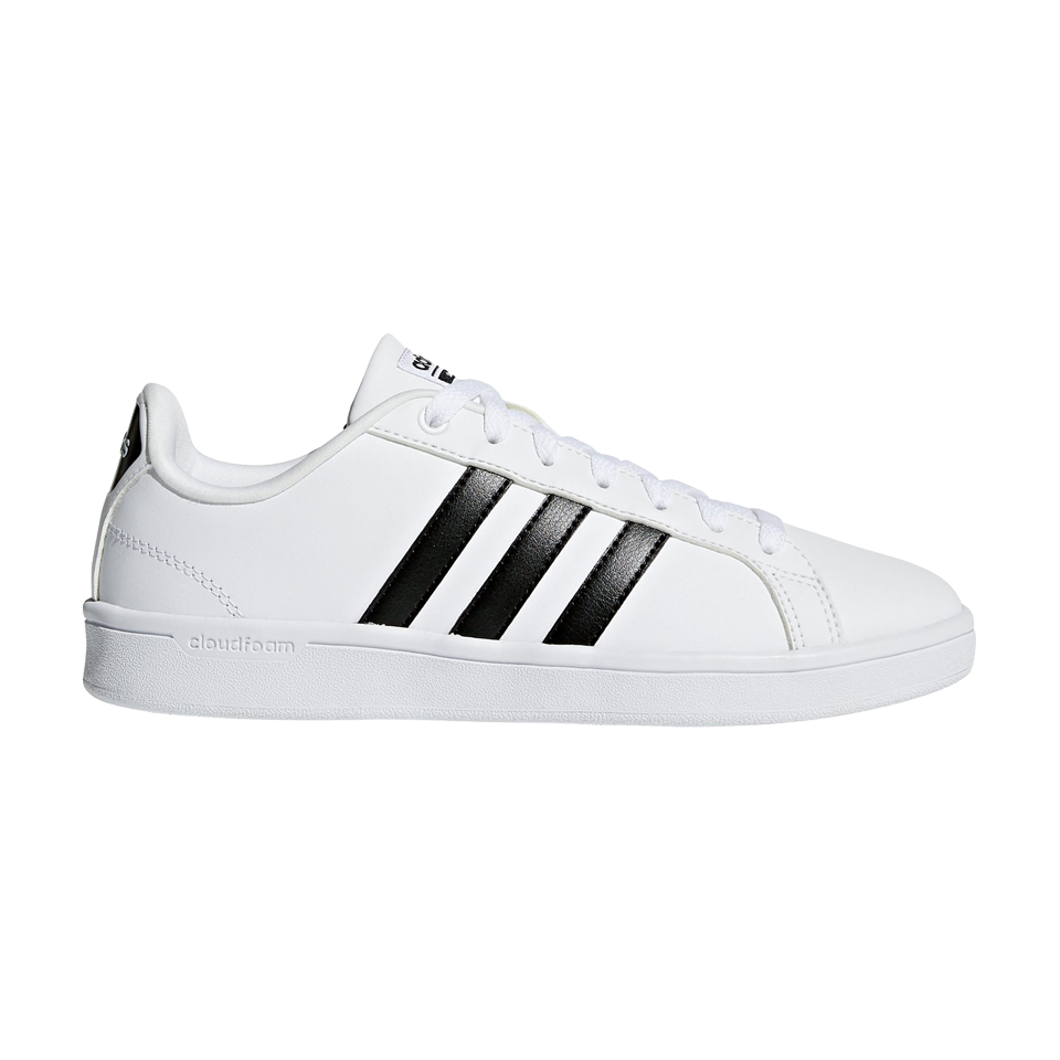 Adidas Women's Cloudfoam Advantage WhiteBlack