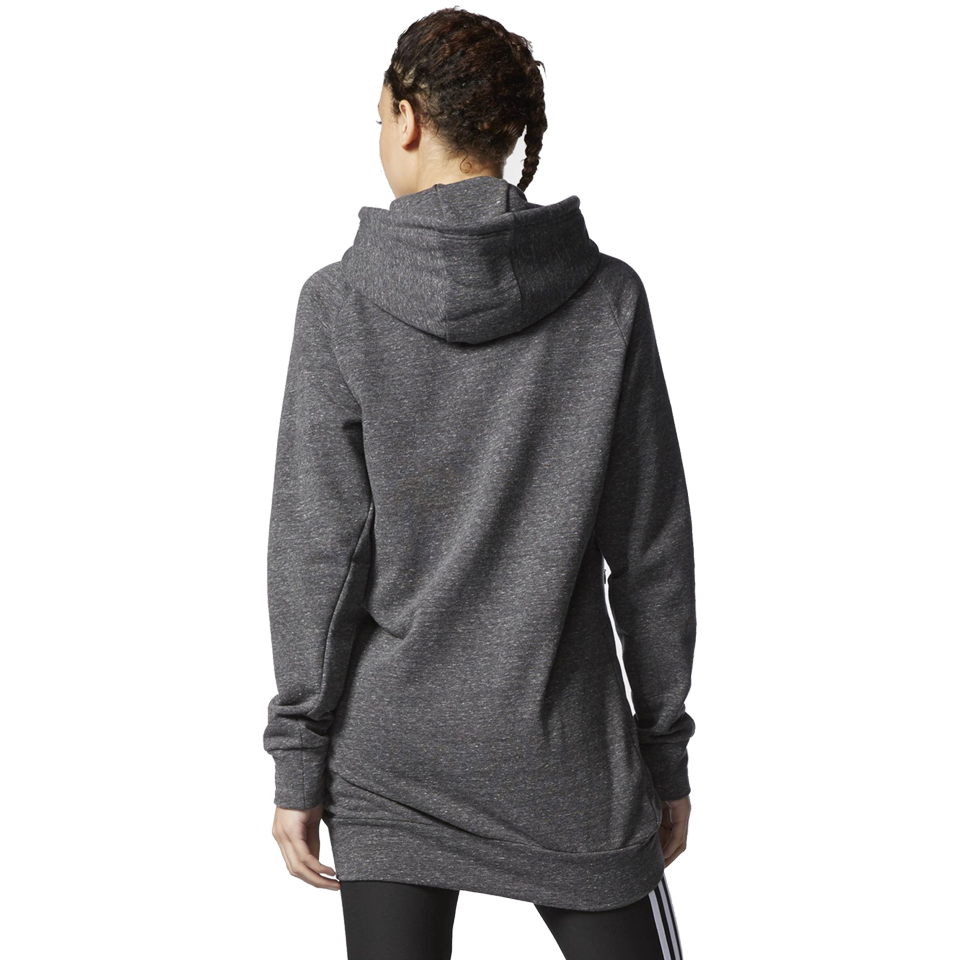 Adidas Women's Cotton Fleece Hoodie Pepper Black