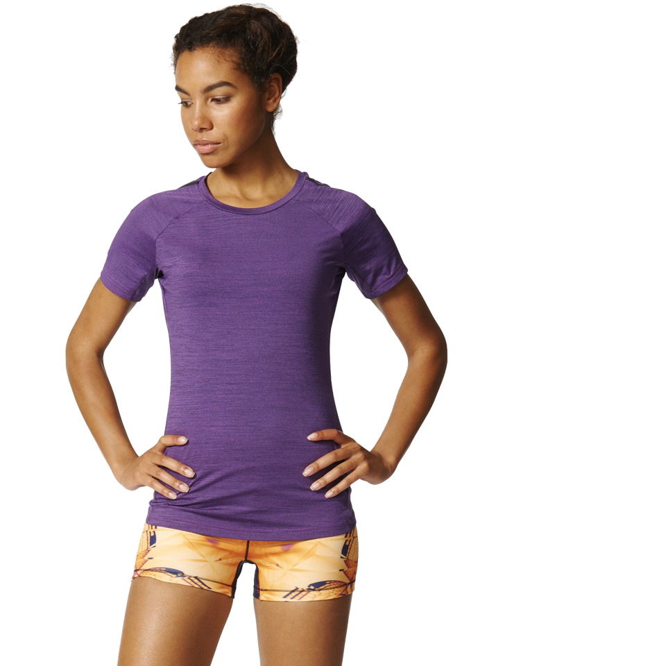 Adidas Women's Performance Tee Shock Purple