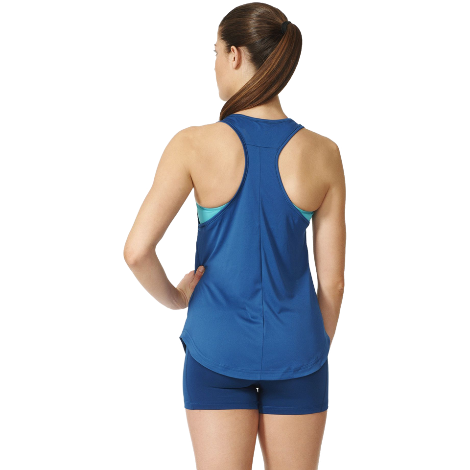 Adidas Women's Too Fit Tank Tech Steel
