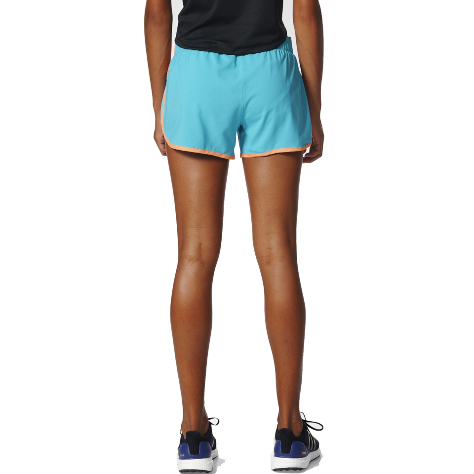 "Adidas Women's M10 4"" Short Energy Blue"