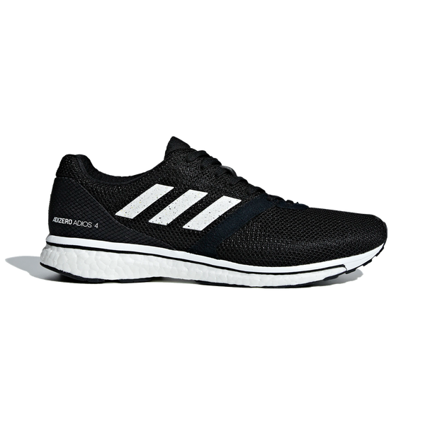 Adidas Men's Adizero Adios 4 Black/White