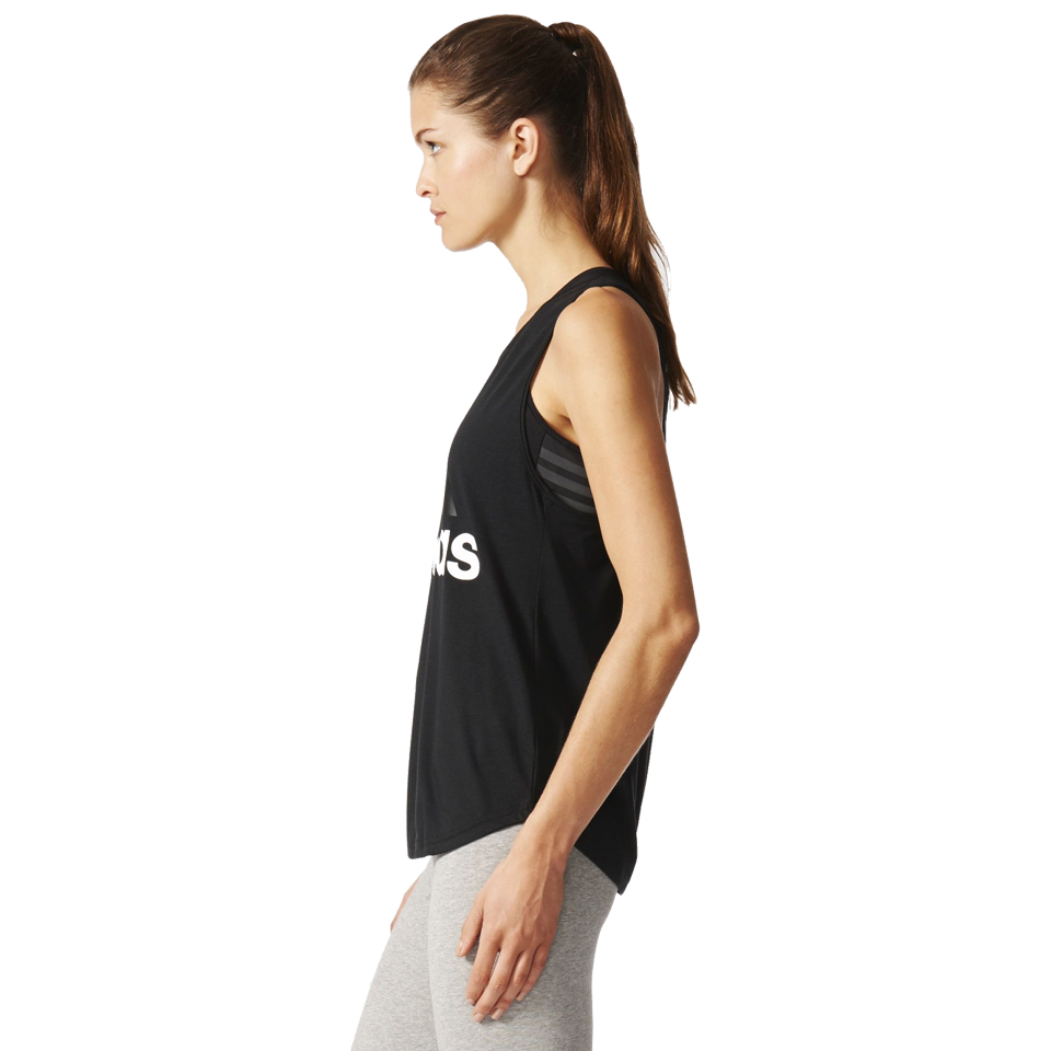 Adidas Women's Essential Logo Tank Black