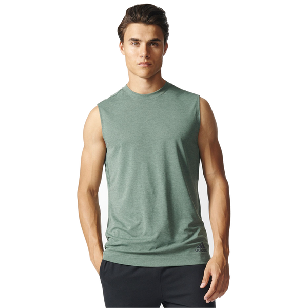 Adidas Men's Climachill Tank Trace Green