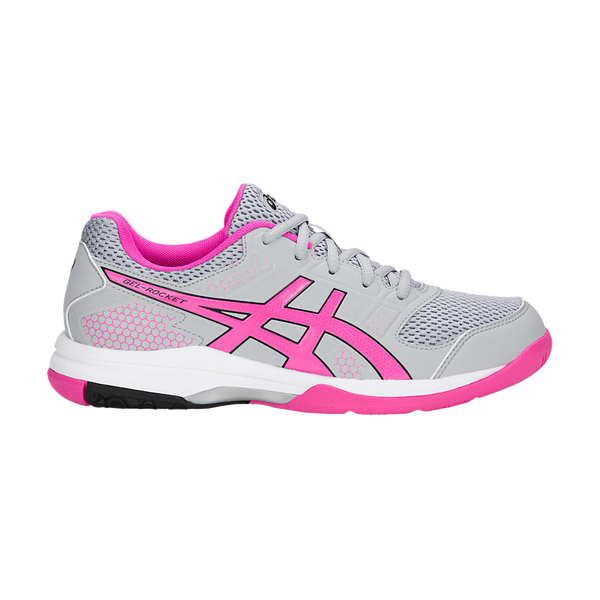 Asics Women's Gel-Rocket 8 Mid Grey