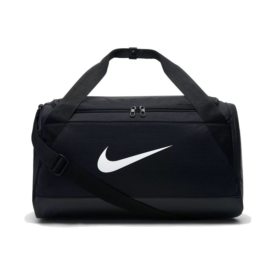 Nike Brasilia Small Training Duffel Bag Black/White