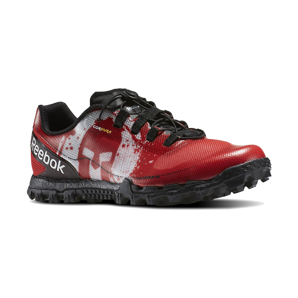 Reebok Men's All Terrain Super or Spartan Excellent Red