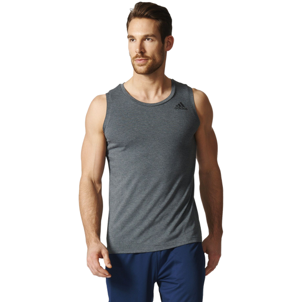 Adidas Men's Freelift Prime Tank Dark Grey Heather