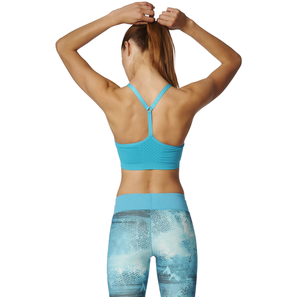 Adidas Women's Seamless Bra Energy Blue