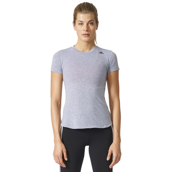 Adidas Women's Prime Tee Medium Grey Heather