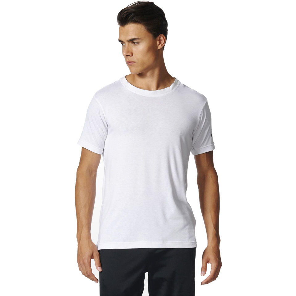 73556ae9d7 Adidas Men's Freelift Prime Short Sleeve Tee White