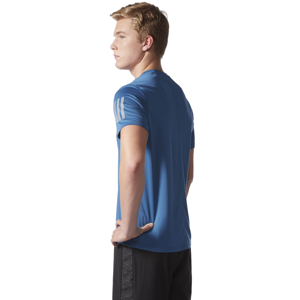 Adidas Men's Response Tee Core Blue