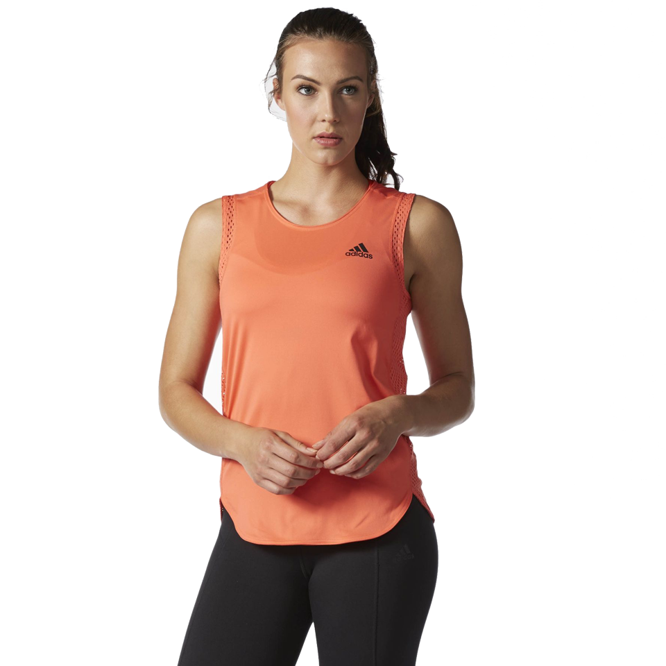 Adidas Women's Performer 20/10 Tank Easy Coral
