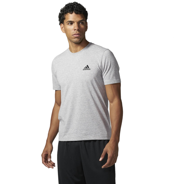 Adidas Men's Triblend Tee Medium Grey Heather