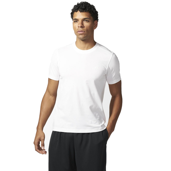 Adidas Men's Triblend Tee White