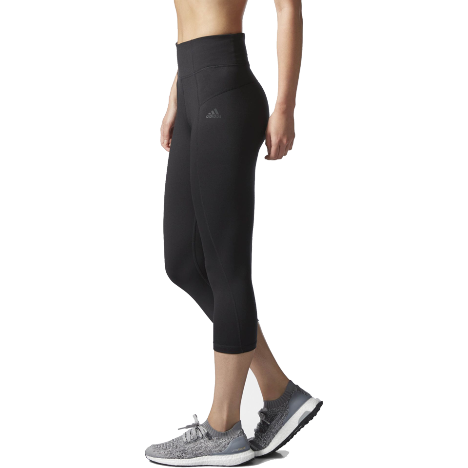 Adidas Women's Performer High Rise Capri Black