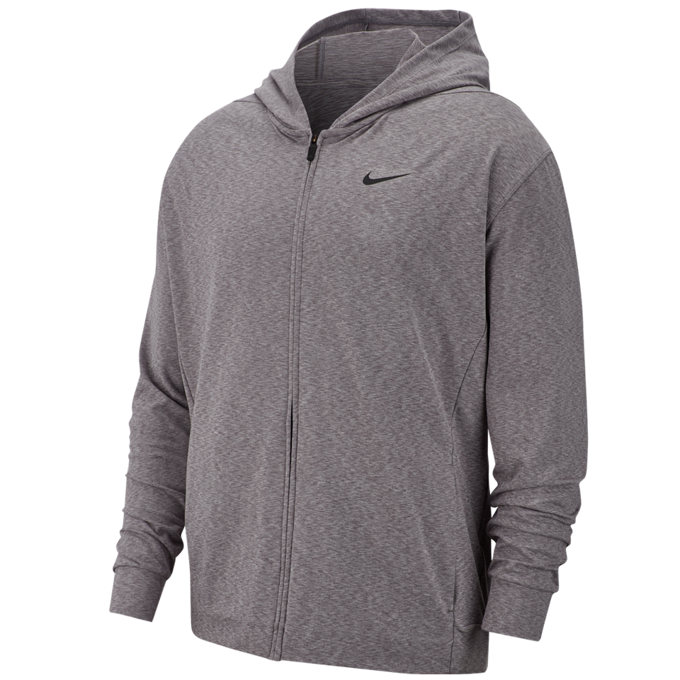 b69a573b Nike Men's Dri-FIT Full-Zip Training Hoodie Gunsmoke - Play Stores Inc