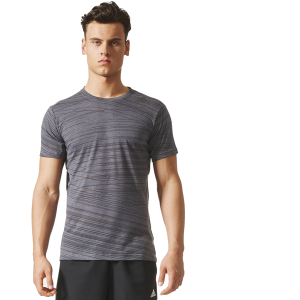 Adidas Men's AeroKnit Tee Grey Three