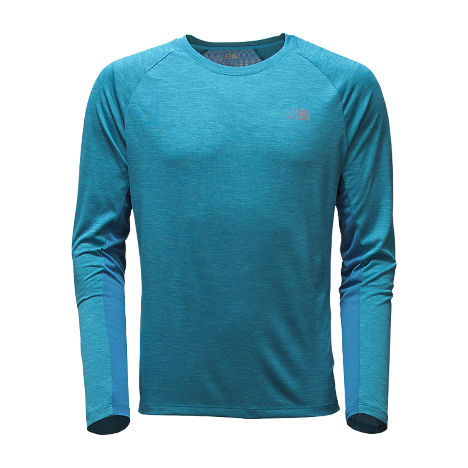 The North Face Men's Ambition Longsleeve Banff Blue