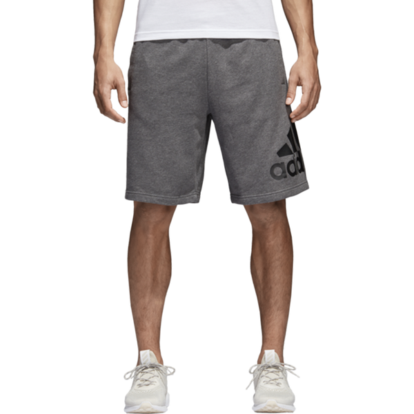 Adidas Men's Essential Chelsea Short Dark Grey Heather