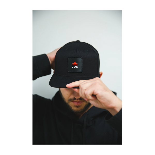CDN Crown Snapback Black