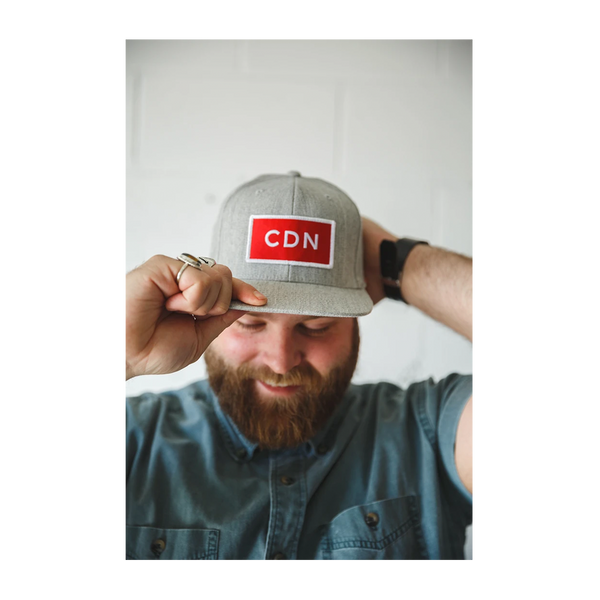 CDN Heritage Snapback Heather Grey