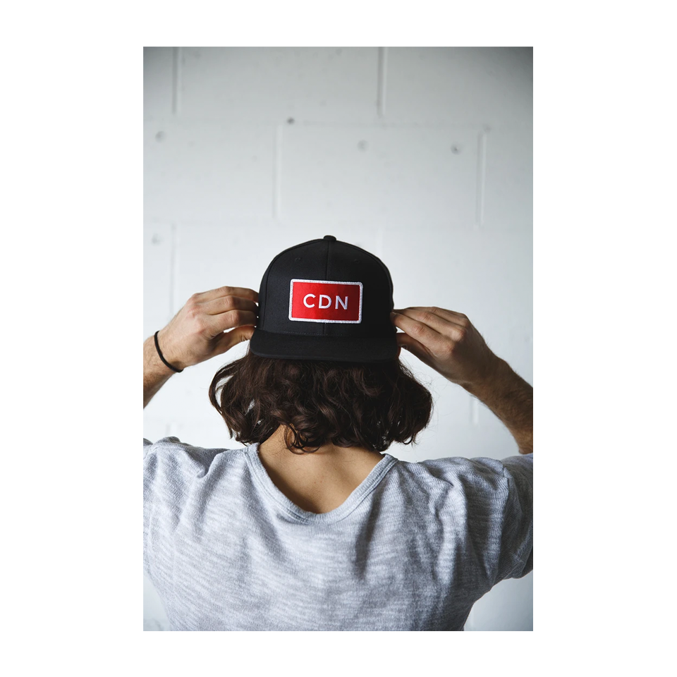 CDN Original Snapback Black