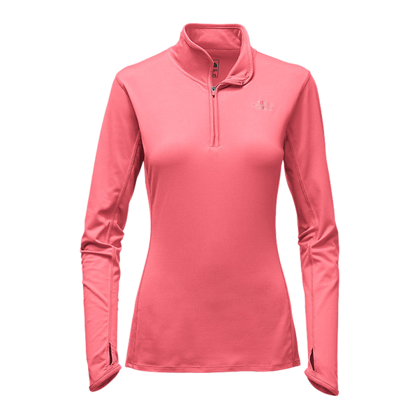 The North Face Women's Motivation 1/2 Zip Calypso Coral