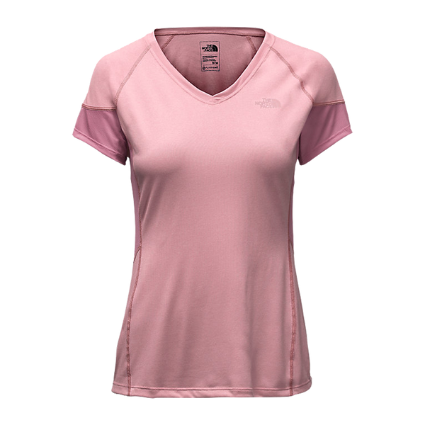 The North Face Women's Reactor V-Neck Rose Heather