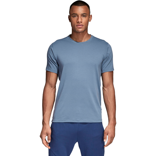 Adidas Men's Freelift Prime Tee Trace Steel