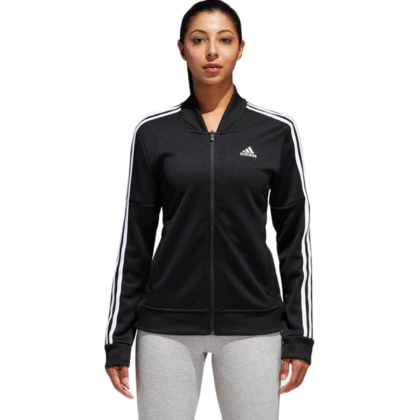 Adidas Women's Tricot Snap Jacket Black