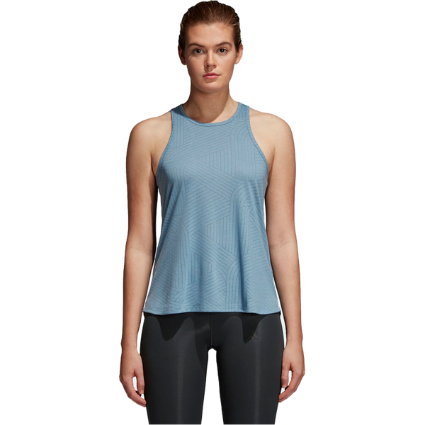 Adidas Women's Cool Tank Graphic Raw Grey