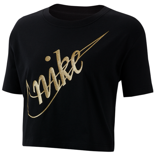 Nike Women's Nike Crop Tee Black