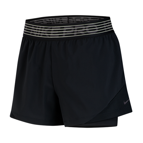 Nike Women's Pro Flex 2-in-1 Shorts Black